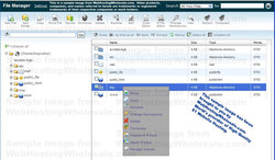 Free Online web based File Manager Tool.
